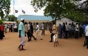 English: Downtown Dadaab, Kenya 日本語: ケニアのダダーブの下町
