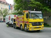 Heavy Tow truck of Martin Cronacher, Ltd., Feldkirchen near München (Germany)