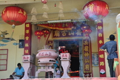 English: A Chinese temple in Kuala Lumpur or the Klang Valley.