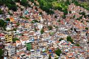 English: inside rocinha favela rio de janeiro brazil 2010