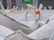 English: Bags of WEEE Seen here are a few of hundreds of sacks of chopped up Waste Electrical and Electronic Equipment (known as WEEE). Sweeep in Sittingbourne is claimed to be one of the most sophisticated and environmentally friendly recycling plants in