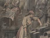 L'ouvrière parisienne, avant la guerre, pendant la guerre.