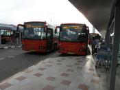 English: Bangalore city buses at .