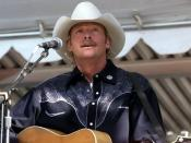 English: Country music star Alan Jackson performs his song