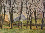 Jas de Bouffan, Paul Cezanne