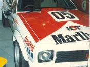 English: Bathurst 1000 winning Holden Torana in Bathurst museum