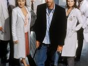 The original lead dramatis personæ of House, M.D.: Wilson, Cuddy, Chase, House, Cameron, and Foreman.