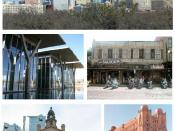 It is a collage image of the City of Fort Worth, Texas, USA