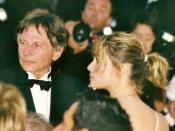 Français : Roman Polanski et Emmanuelle Seigner au festival de Cannes.