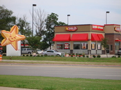 Carl's Jr. Restaurant in Denton, TX