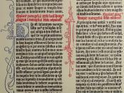 Gutenberg Museum print
