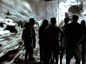English: World Skin - Maurice Benayoun Virtual Reality Installation - 1997