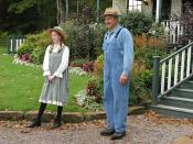 English: Actors at the Anne of Green Gables museum in Cavendish, Prince Edward Island