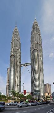 Deutsch: The Petronas Twin Towers in Kuala Lumper, Malaysia