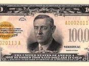 $100,000 Gold Certificate, Obverse
