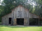 Barn on ' property in Cross Creek, Florida