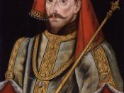 King Henry IV, by unknown artist. See source website for additional information. This set of images was gathered by User:Dcoetzee from the National Portrait Gallery, London website using a special tool. All images in this batch have an unknown author, but