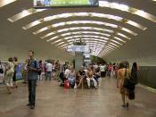 Ploshad Lenina metro station
