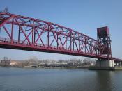 Welfare Island Bridge - Roosevelt Island, New York