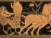 Hippodamia was a daughter of King Oenomaus and wife of Pelops with whom her offspring were Thyestes, Atreus, and Pittheus, Alcathous.