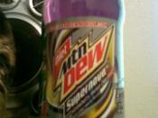 English: this is a picture of diet mountain dew supernova
