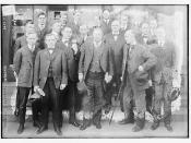 [Theodore] Roosevelt & reporters - Syracuse  (LOC)