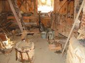 Blacksmith Shed at Jarrell Plantation