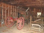 Jarrell Plantation Antique Farm equipment