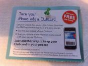tesco clubcard barcode iphone app