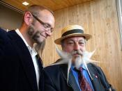 World Beard and Moustache Championship - Roland van Den Bremt