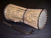 The talking drum is an instrument unique to the West African region.