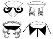 Italiano: Moko caratteristico tatuaggio delle tribù Maori