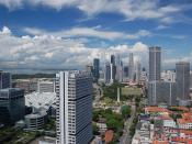 English: Downtown Core, Singapore's business centre.