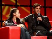 Yuri Lowenthal & Tara Platt