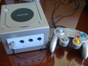 Nintendo GameCube Silver.