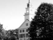 English: Meeting House, Rindge, New Hampshire Category:Rindge, New Hampshire