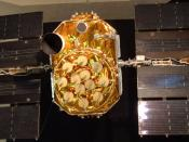 The only GPS satellite on public display is at the San Diego Aerospace Museum.