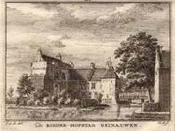 """Nederlands: Deze afbeelding is een kopergravure van Hendrik Spilman (1721-1784), afkomstig uit """"Het verheerlykt Nederland of Kabinet van Hedendaagsche Gezigten"""", dat in de jaren 1745 tot 1774 werd uitgegeven door Isaak Tirion in Amsterdam. De"""