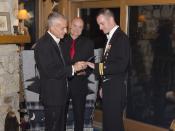 English: Wedding Ceremony of LT Gary Ross and Dan Swezy