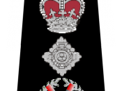 English: UK Police Commissioner Rank Markings