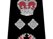 English: UK Police Deputy Commissioner rank markings
