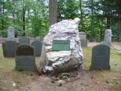 English: This is a photograph taken of Ralph Waldo Emerson's grave at the Sleepy Hollow Cemetery on Bedford Street near the center of Concord, Massachusetts.