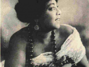English: The image of American blues singer Mamie Smith