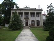 English: The Belle Meade Plantation - a historic plantation mansion, garden, and grounds - in Belle Meade, Davidson County, Tennessee :I took this photo myself on August 8, 2004 at Belle Meade Planation in Belle Meade, TN, United States.