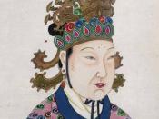 The Official Imperial Portrait of Tang Dynasty's Empresses