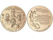 2003 Brown et al. v. the Board of Education of Topeka et al. Congressional Gold Medal