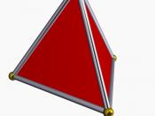 Image d'un tétraèdre