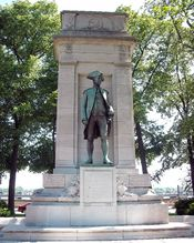 English: John Paul Jones Memorial on the National Mall in Washington, D.C.