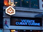 Vicente Cuban Cuisine