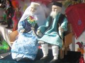 English: Tatar dolls: Grandma and Grandpa Tatarça: Татар курчаклары: әби һәм бабай Русский: Татарские куклы: бабушка и дедушка